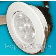 Встраиваемый светодиодный светильник 220В 3х1 Вт ДНЕВНОЙ