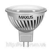 LED лампа Maxus MR16 7w(620lm) 4100К 220v GU5.3 AL