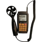 Термоанемометр с измерением объёмного расхода воздуха AR856A фото