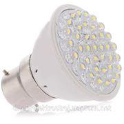 Светодиодная лампа с цоколем B22 38 Focus LED, холодная белая