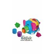 Развивающая игрушка - сортер Слоник фото