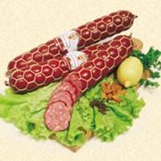 Изделия колбасные варёно-копчёные фото