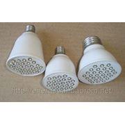 Светодиодная лампа с цоколем Е — 27 и Е — 14