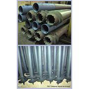 Винтовые сваи из металлических труб сварные и с литым наконечником фото