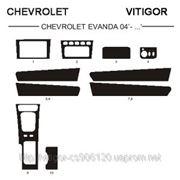 Chevrolet EVANDA 04' - ... Светлое дерево, темное дерево, темный орех, черный, синий, желтый, красный фото