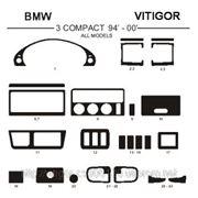 BMW 3 COMPACT 94' - 00' ALL MODELS Светлое дерево, темное дерево, темный орех, черный, синий, желтый, красный фото