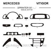 Mercedes SPRINTER 00' - ... MANUAL SHIFTER Светлое дерево, темное дерево, темный орех, черный, синий, желтый, красный фото