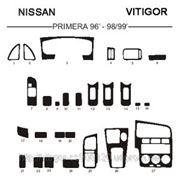 Nissan PRIMERA 96' - 98'/99' Светлое дерево, темное дерево, темный орех, черный, синий, желтый, красный фото