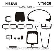 Nissan ALMERA 00' - ... Светлое дерево, темное дерево, темный орех, черный, синий, желтый, красный фото