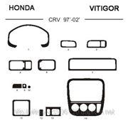 Honda CRV 97' - 02' Светлое дерево, темное дерево, темный орех, черный, синий, желтый, красный фото