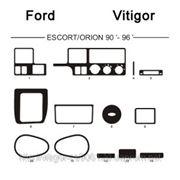 Ford ESCORT/ORION 90' - 96' Светлое дерево, темное дерево, темный орех, черный, синий, желтый, красный фото