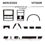 Mercedes SPRINTER 06'-... ALL MODELS Светлое дерево, темное дерево, темный орех, черный, синий, желтый, красный фото