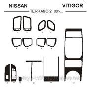 Nissan TERRANO 00' - ... Светлое дерево, темное дерево, темный орех, черный, синий, желтый, красный фото
