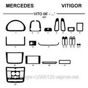 Mercedes VITO 06' - ... A/C Светлое дерево, темное дерево, темный орех, черный, синий, желтый, красный фото