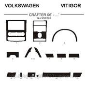 Volkswagen CRAFTER 06'-... ALL MODELS Светлое дерево, темное дерево, темный орех, черный, синий, желтый, красный фото