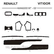 Renault KANGOO 97' - 03' Светлое дерево, темное дерево, темный орех, черный, синий, желтый, красный фото