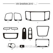 Volkswagen SHARAN 10' - ... Светлое дерево, темное дерево, темный орех, черный, синий, желтый, красный фото