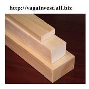 Брусок сосновый строганный 40х45 сорт АВ длинна 2,1 м. фото