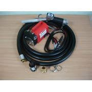 KIT BATTERY — переносной насос для дизельного топлива 24В, 40 л/мин. фото