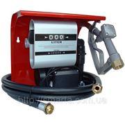Мобильная топливораздаточная колонка для топлива с расходомером HI-TECH 80 , 220В, 80 л/мин фото