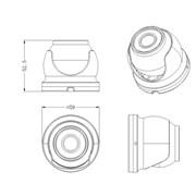 Optimus AHD-M051.0(2.8) видеокамера фото