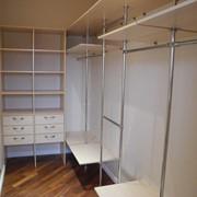 Гардеробные шкафы фото