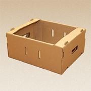 Тара из гофрированного картона фото