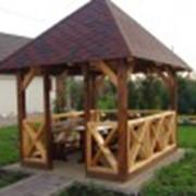 Изготовления садовой мебели под заказ фото