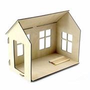 Кукольный домик-раскраска фото