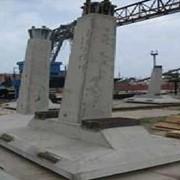 Фундаментные конструкции под унифицированные металлические опоры ВЛ 35-500кВ. фото