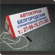 Световой указатель учебного автомобиля фото