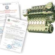 Сертификация и контроль двигателей фото