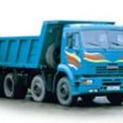 Самосвал строительный четырехосный КАМАЗ 6540 фото