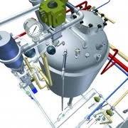 Разводка трубопроводов технологического оборудования фото