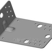Кронштейн крепежный неравносторонний с ребром жесткости Б4/7, арт. 2635 фото