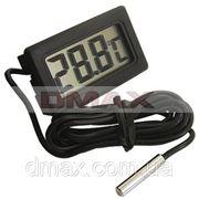 Мини термометр TL-8009 с выносным датчиком для измерения тумпературы фото