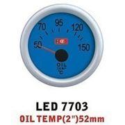 Дополнительный прибор Ket Gauge LED 7703 температура масла. фото
