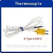 Термопара К-типа датчик температуры -50-250 С для термометров, реле, термостатов фото