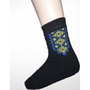 Шкарпетки зимові вишиті чоловічі 3701 фото