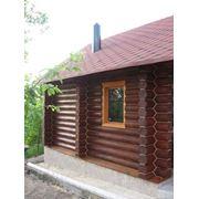 Строительство деревянного дома фото