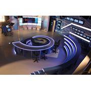 Освещение ТВ студий фото