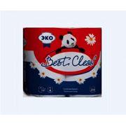 Бумага туалетная «Best Clean» ECO 4 рул. фото