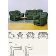 Мебель кожаная мягкая Финская Аманда фото