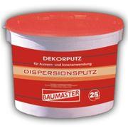Штукатурка акриловая декоративная DekorPutz Baumaster 25 кг фото