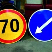 Дорожные знаки круглые фото