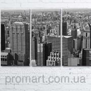 Модульна картина на полотні Нью-Йорк. Манхеттен код КМ6090-105-1 фото