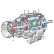 Роторы ротор в сборе к ДПЭ-52 54 кВт фото