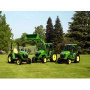 Дизельные тракторы John Deere Тракторы фото