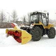 Тракторы Трактор со снегоочистителем СШР-26 РТ-М-160 Трактор со снегоочистителем. фото