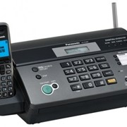 KX-FC968RU-T Panasonic факсимильный аппарат на термобумаге, Чёрный